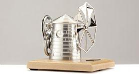 Bohm Windmill with Natural Base for Stirling Engine